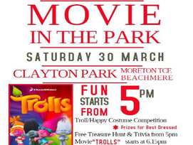 Movie in the park - Beachmere