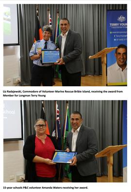 Bribie Community Volunteers Recognised