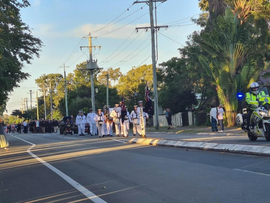 COMMUNITY TURNS OUT FOR ANZAC DAY SERVICE