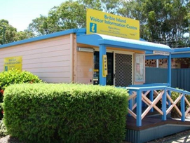 Bribie Island Visitor Information Centre a gold mine for locals as well.