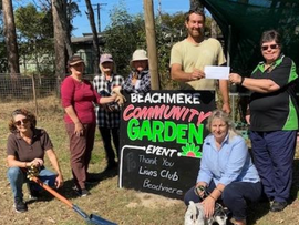 It's all happening at Beachmere Community Garden!