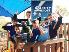 Schools Urged to Help Break Safety Heroes Record