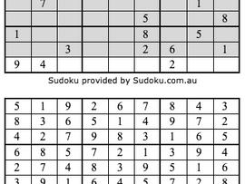 Sudoku Results