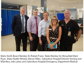 UPGRADE TO CABOOLTURE HOSPITAL.