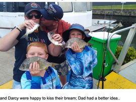 January Fishing Report- The Island and Surrounds