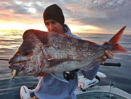 BRIBIE ISLAND OFFSHORE FISHING REPORT APRIL 2021