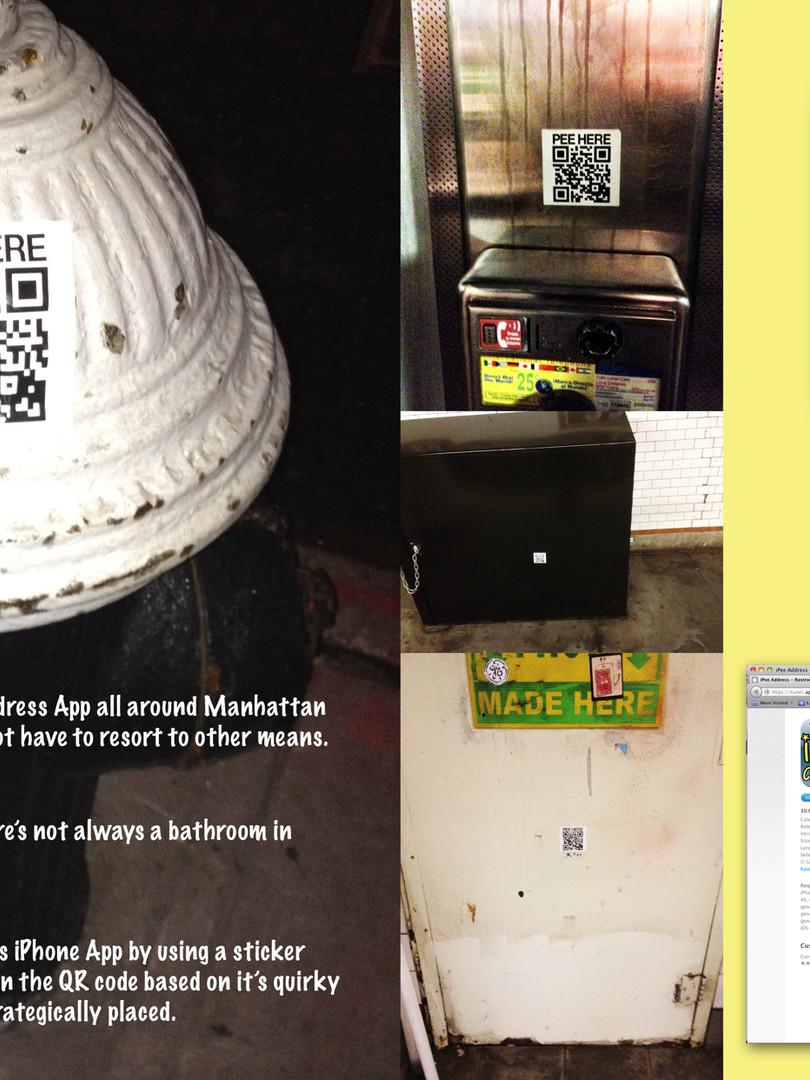 Outdoor Sticker Campaign