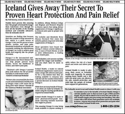 Iceland Health Advertorial