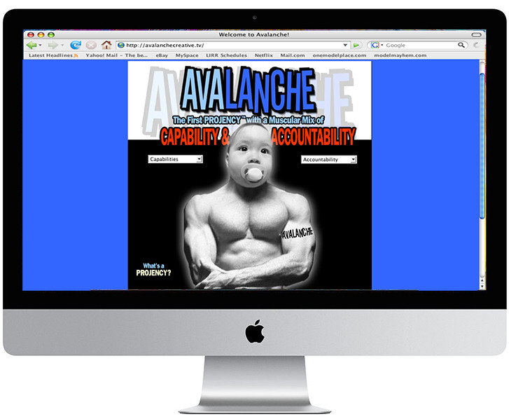 Avalanche Creative Website
