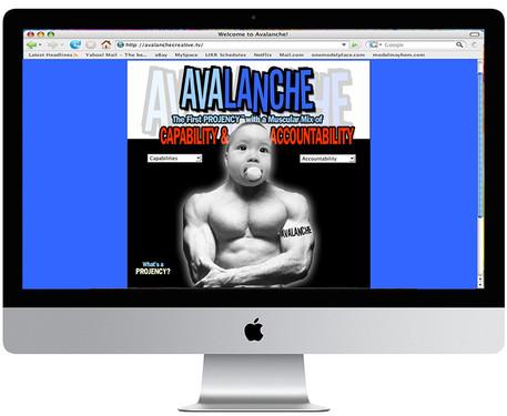 Avalanche Creative Website