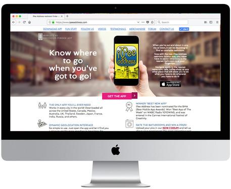 iPee Address Website
