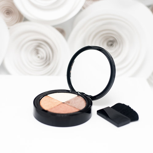 BAM Quad Highlighter and  Eyeshadow
