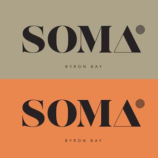 Soma retreat, logo and Branding.