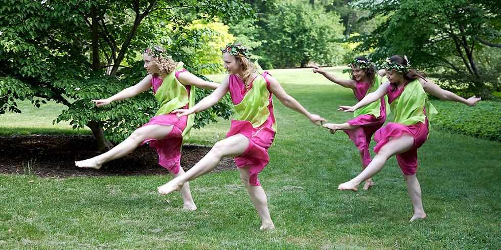 Contemporary Duncan Dance Class (virtual via Facebook Live)