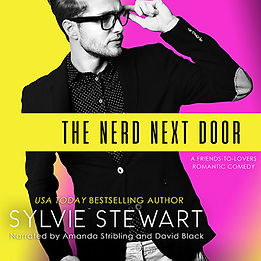 TheNerdNextDoor_SylvieStewart_AudioCover