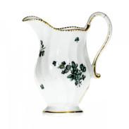 Spirally fluted cream jug,