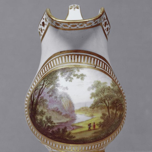 Cream jug from cabaret service