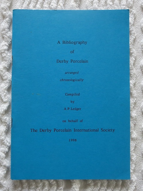Bibliography of Derby Porcelain