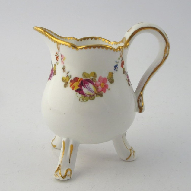Bloor Derby footed cream jug