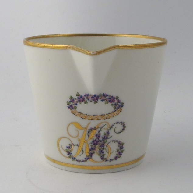 Cream Jug with Marriage Device