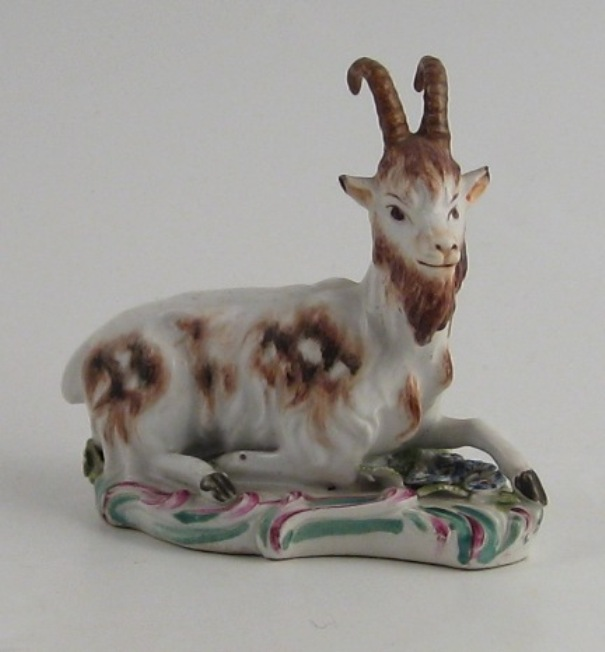 Recumbent Goat