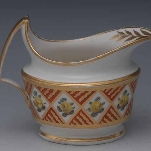 Pattern 591 cream jug