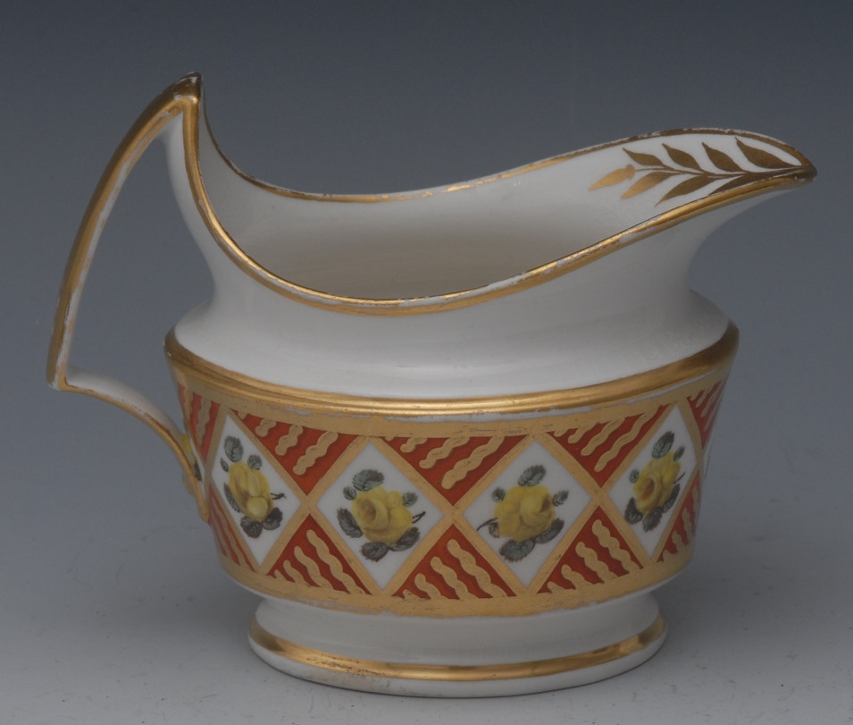 Pattern 591 cream jug