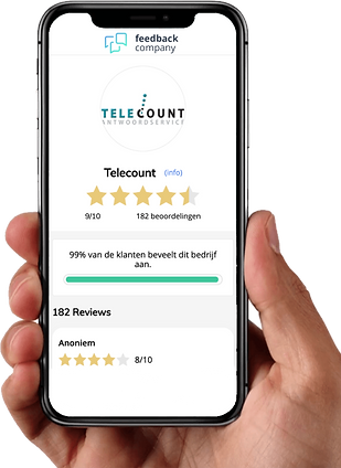 Telefoonservice Telecount ervaring