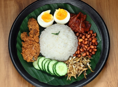 Asal usul makanan tradisional di Malaysia.