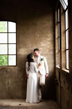 bruidspaar tijdens de bruidsfotosessie