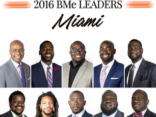Jonathan Spikes is selected as one of the 2016 BMe Leaders Miami