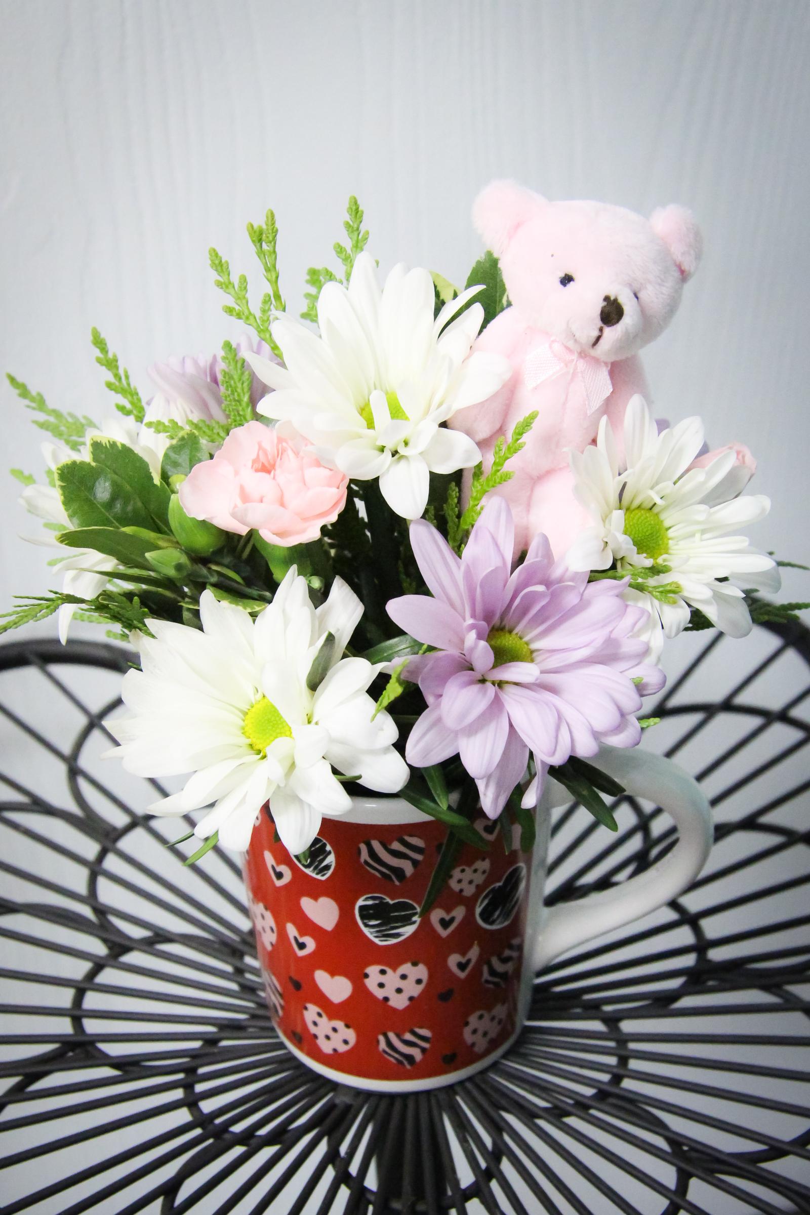 Mini Arrangement in a mug