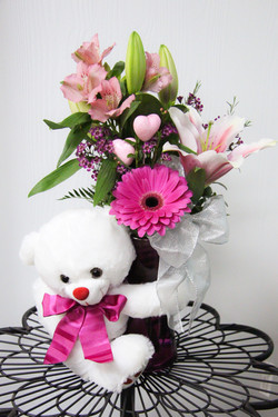 Teddy Bear Vase