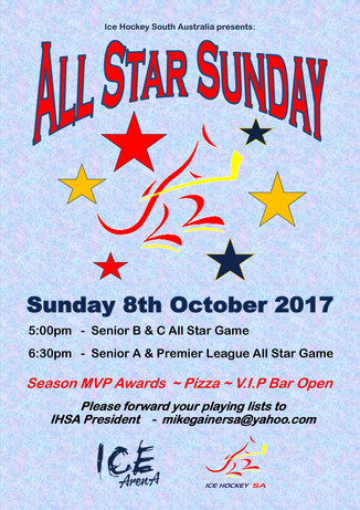 ALL STAR SUNDAY PLANNED FOR 8TH OCTOBER