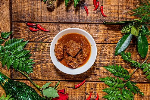 Beef Rendang w/ Jasmine rice
