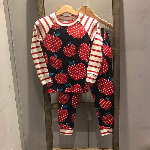 Hatley: Polka Dot Apple - Navy Pyjamas