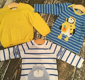 Boy clothing at Sid & Evie's in South Wo