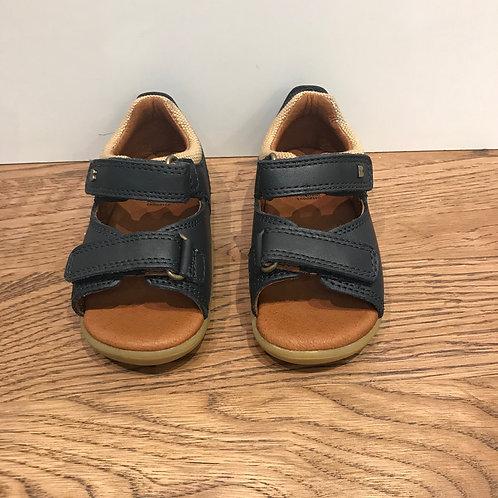 Bobux: Driftwood - Step Up Navy Sandals