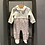 Thumbnail: Baby Bol: Baby Grow - Cream Velour