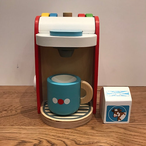 BigJigs: Red Coffee Machine