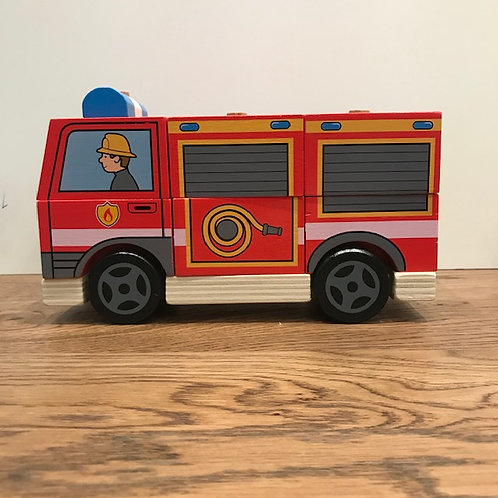 BigJigs: Red Stacking Fire Engine