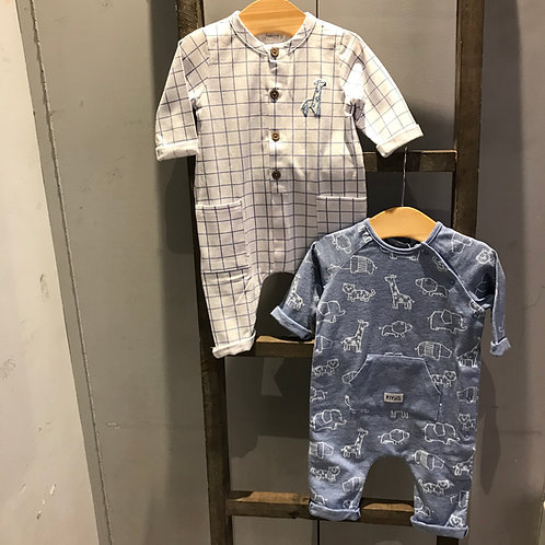 Mayoral: 2 Pack Baby Grow Blue