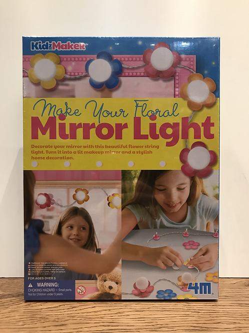KidzMaker: Make your own floral mirror light