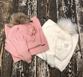 Girls winter hats at Sid & Evie's in Sou