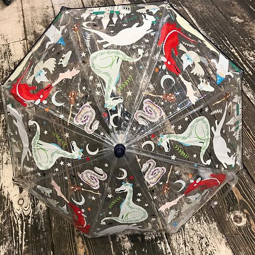 Floss & Rock: Dragon - Colour Changing Umbrella