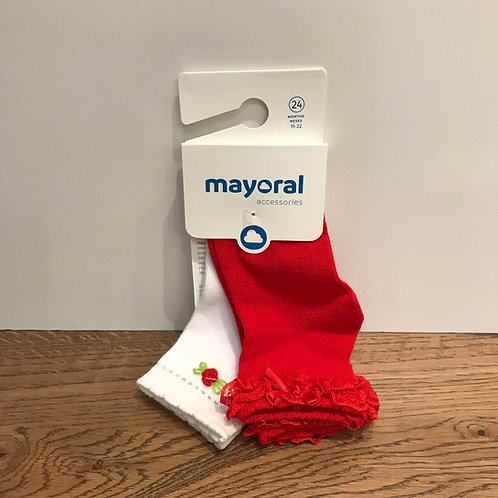 Mayoral: Red Socks