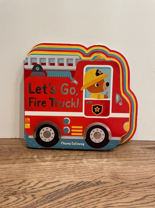 Let's Go Fire Truck Book