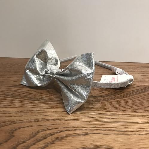 Hatley: Silver Bow Headband