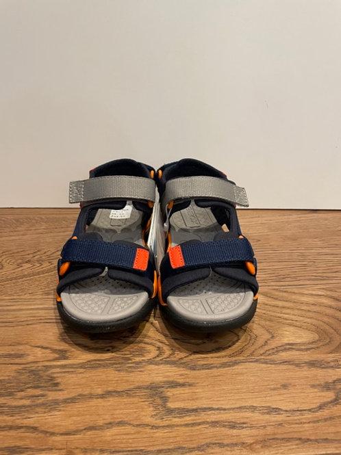 Geox: J Borealis: Navy Sandals