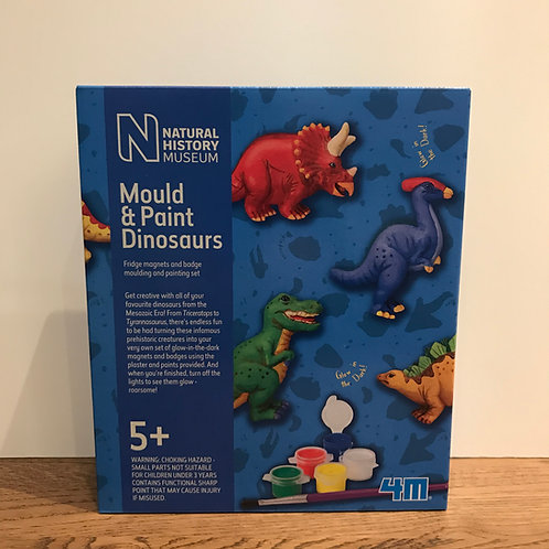 Natural Museum: Mould & Paint Dinosaurs